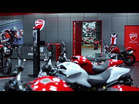 AMS Ducati Dallas Showroom