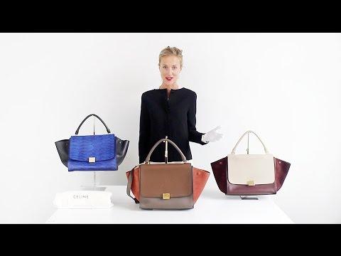 Spotting A Real Celine Trapeze Bag - StyleTribute Authentication