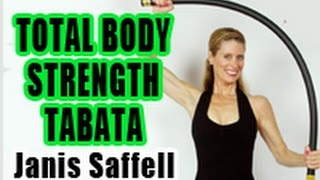 JANIS SAFFELL TOTAL BODY STRENGTH TRAINING TABATA trailer