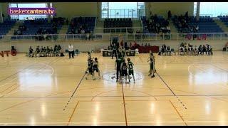 U13M - F.C. BARCELONA vs CAJASIETE CANARIAS - III Torneo Infantil Ciudad de Vera (BasketCantera.TV)