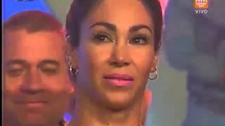 EEG - Mira cómo reacciona Melissa Loza cuando se le acerca Guty Carrera - 19/02/2016