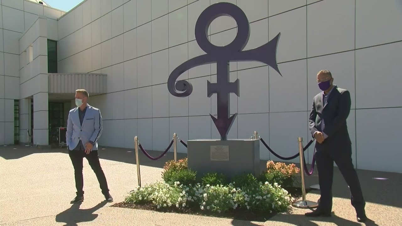 New Prince Love Symbol Unveiled At Paisley Park - YouTube