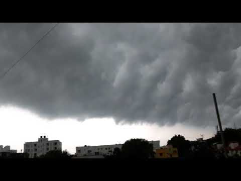 Monsoon clouds in Vadodara !! Horrifying experience 😥😥