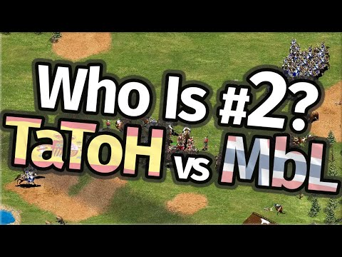 Who Is #2 In AoE2!? TaToH vs MbL!
