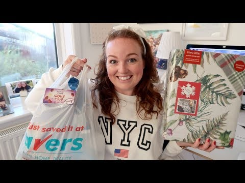 HOME BARGAINS & SAVERS HAUL 🏘 | OCTOBER 2018