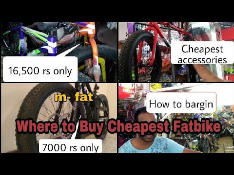 Where to Buy Cheapest Fatbike in India | jhandewalan cycle market | Firefox fatbike? accessories