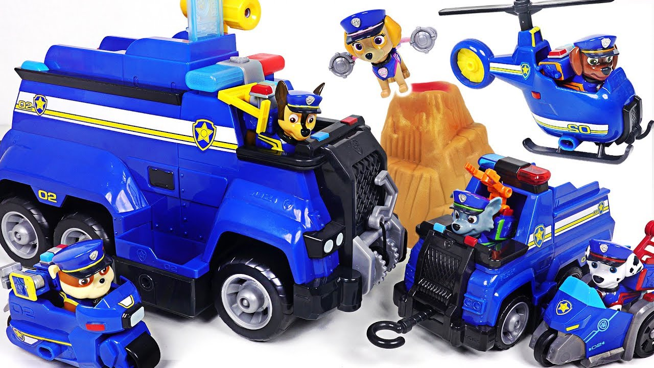 Paw Patrol Ultimate Police Cruiser Jouet