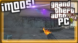 GTA 5 PC - MOD - ¡ARMAS INSANAS! ¡DAÑO BESTIAL!