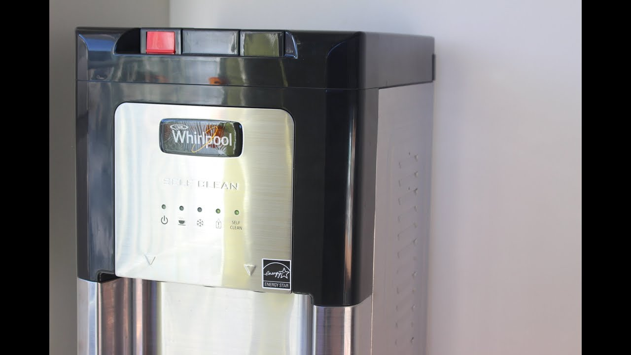 Whirlpool Stainless Steel Self Cleaning Water Dispenser Heater ...