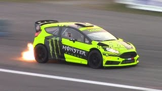 Valentino Rossi Monza Rally Show 2015 - Ford Fiesta WRC Test Day!