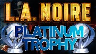 L.A. Noire Platinum Trophy (The Moose)