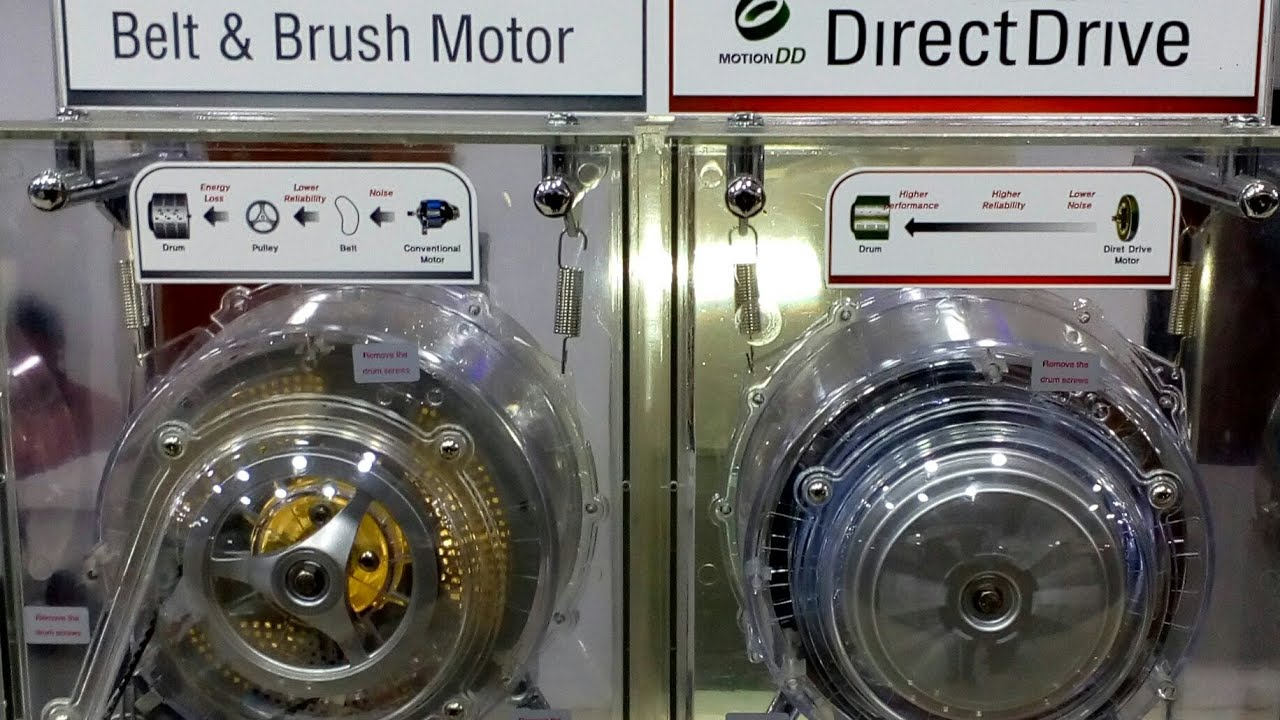 Difference Between Direct Drive And Belt Drive Washing