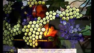 Витражи   Стеклянный натюрморт(Уроки создания Витражей: - http://yourlife.ws/vd/drott2013 теги: витражи +своими руками, витраж, изготовление витражей,..., 2014-09-30T08:34:42.000Z)