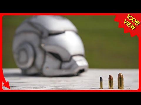 실제 아이언맨 슈트는 총알을 막아낼 수 있을까