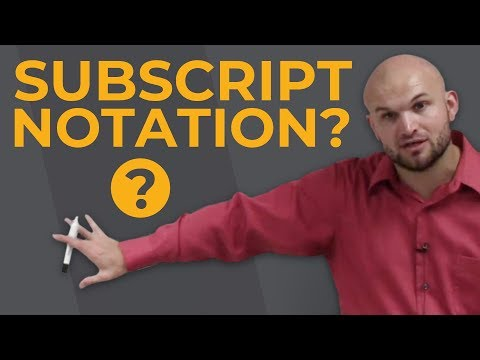 Pre-Calculus - What is subscript notation and how does it relate to functions