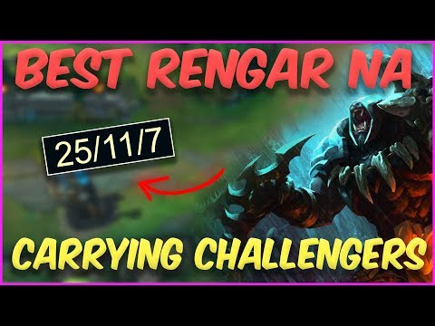 HOW TO CARRY HIGH ELO WITH RENGAR | ScrubNoob