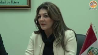 Tema: UNMSM Celebra Carta de Intención con el Instituto Brasileño IFAC