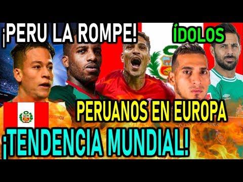 🔥¡¡TENDENCIA MUNDIAL!! PERÚ EXPORTA TALENTO A EUROPA - DEPORTES PERÚ