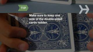 How to Do the Cheek to Cheek Card Trick