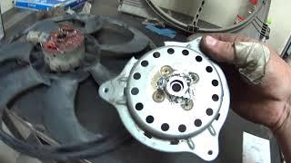 Ремонт вентилятора системы охлаждения Nissan Qashqai