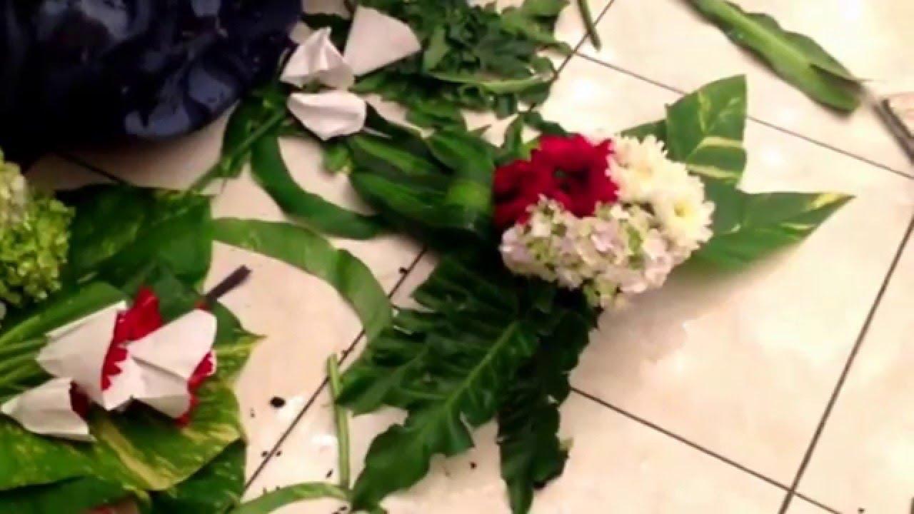 Cara Cepat Sederhana Membuat Bunga Mobil Manten Youtube