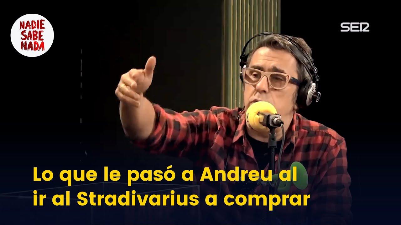 Lo que le pasó a Andreu al ir al Stradivarius a comprar