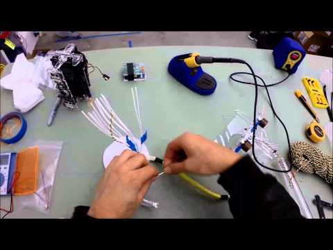 Assembling OpenROV v2.6 [PART 7]: Attaching DB-25, Attaching Propellers, Final Potting