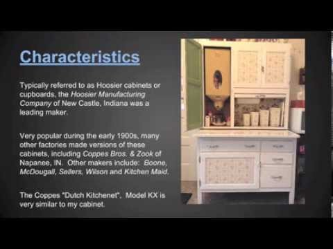 Hoosier Cabinet Tour