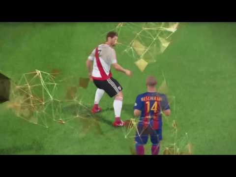 River Plate vs Barcelona Pes 2017 demo