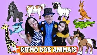 RITMO DOS ANIMAIS ♪ Turma Kids e Cia