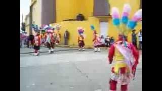danza de los chinos de Chichiquila, Puebla