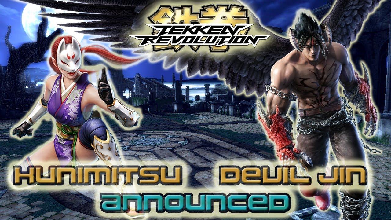 Tekken Revolution: Devil Jin & Kunimitsu Announced! + Limited x5 ...