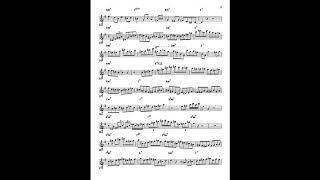 Insane Alto Sax Solo Transcription of Todd DelGiudice on Cherokee in 12 Keys! 2
