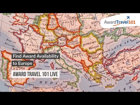 Find Award Availability To Europe