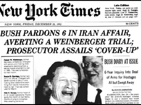 Why Did H.W. Bush Pardon The People Involved In Iran Contra?