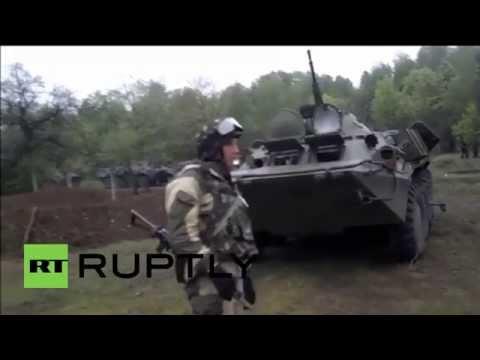 Ukraine: Army moves