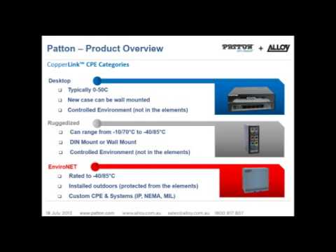 Patton and Alloy - The New ANZ Distribution Channel