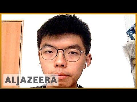 Hong Kong analysis: Joshua Wong calls on gov't to stop police brutality