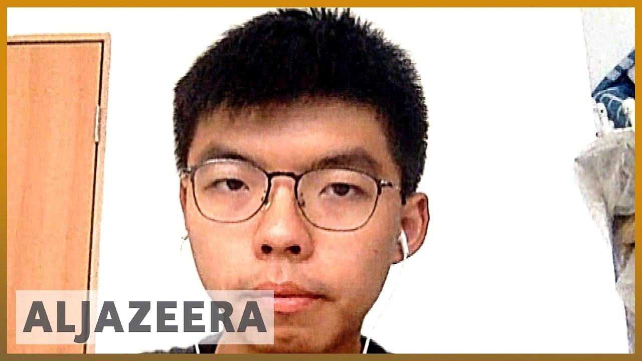 AlJazeera English:Hong Kong analysis: Joshua Wong calls on gov't to stop police brutality