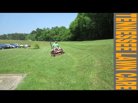 """Tennessee Lawn Care Vlog 15 """"Kicking Grass"""""""