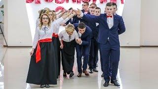 Studniówka ZSP w Goworowie - polonez