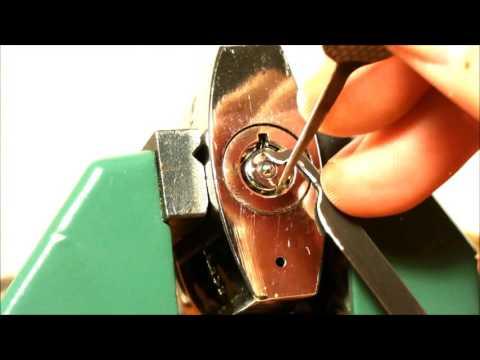 (106) Kryptonite Tubular lock Picked -  fun lock