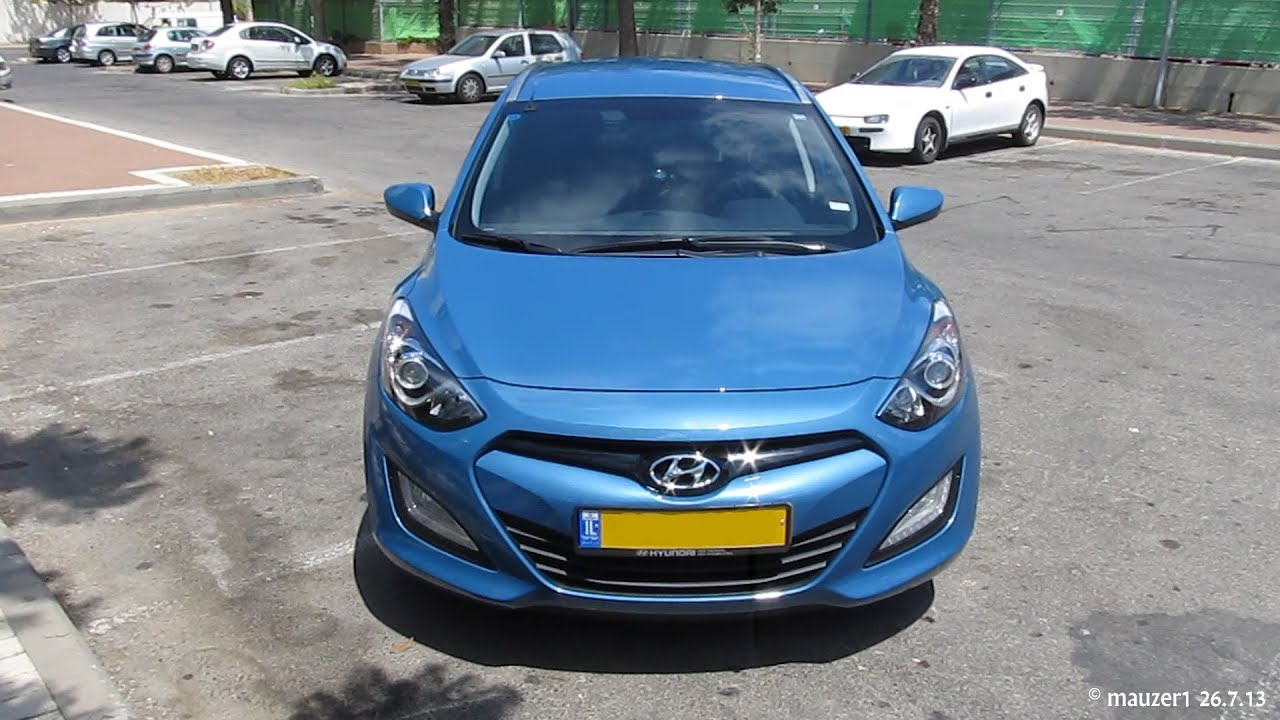 new 2013 hyundai i30 cw tourer blue youtube rh youtube com hyundai i30 wagon manual diesel hyundai i30 cw 2013 manual