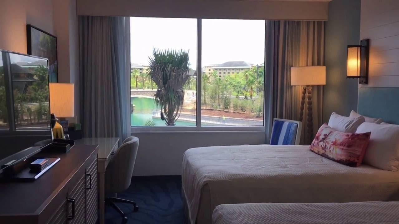Loews Sapphire Falls Resort Standard Room Lagoon View