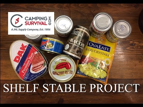 Shelf Stable Project: Breakfast ~CampingSurvival.com~
