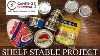 Shelf Stable Project: Breakfast ~CampingSurvival.com~