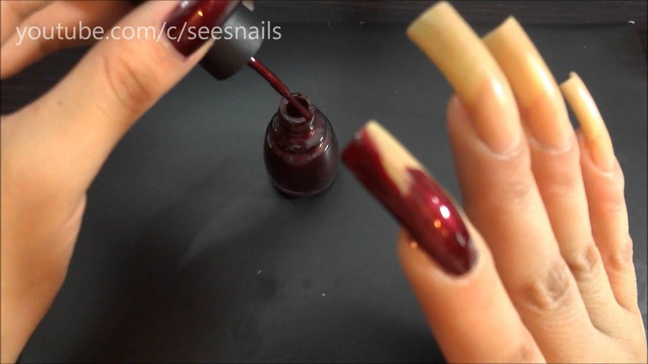 Polishing My Long Natural Nails, Heart of Africa by China Glaze ...