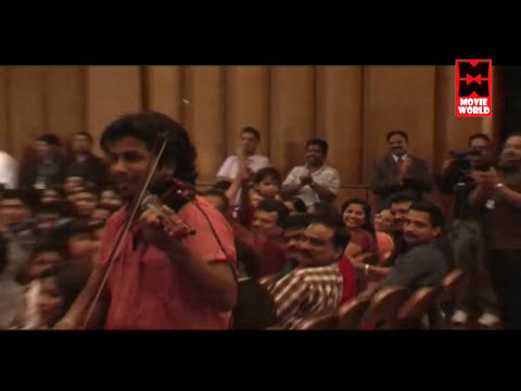 Balabhaskar Violin Fusion Amazing Performance With Stephen Devassy  Malayalam Stage Show 2016