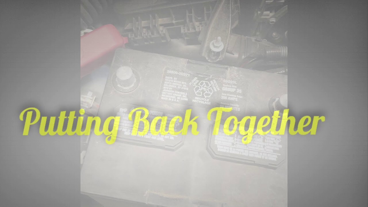 2009 2017 Toyota Corolla Battery Replacement