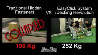 Decking installation systems compared: EasyClick Vs. Traditional clips